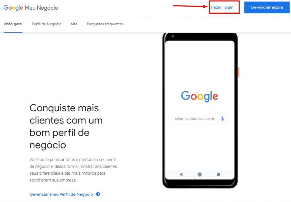 Google Meu Negócio 01